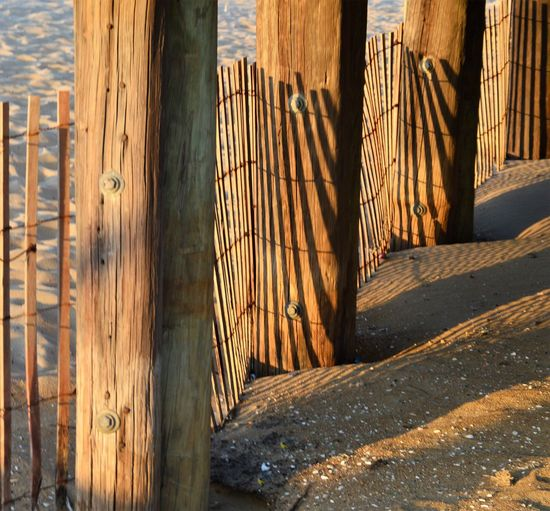 Fence and Post at The Pier Shadows & Light Travel Virginia Beach Barrier Beach Beach Fence Boundary Built Structure Close-up Day Fence Nature No People Outdoors Peir Pier Post Posts Protection Sand Sea Shore Shadows Sunlight Travel Destinations Wood - Material Wooden Post