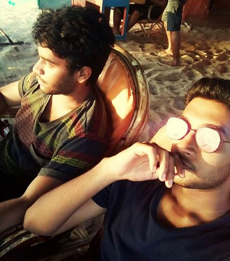 People And Places Goa Beach Beach Life Sunglasses On Stoner Buddies Chilling Life's A Beach
