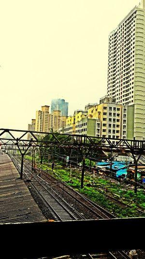 One of the old random clicks ....i miss monsoon Monsoon Railway Skyscrapers Randomshot
