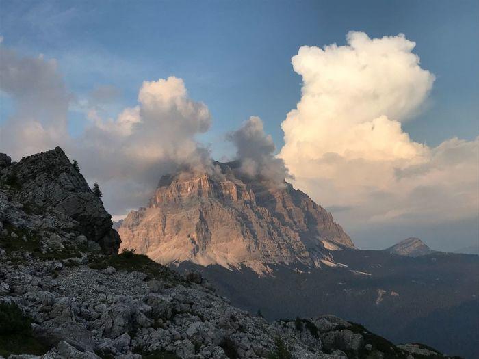 Via Ferrata Monte Pelmo Mountain Sky Cloud - Sky Landscape