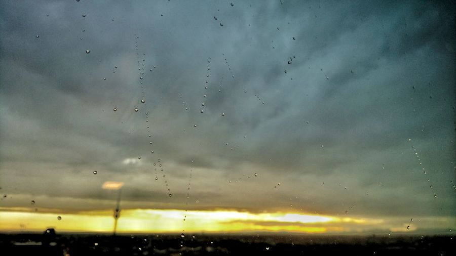 Taking Photos Raindrops Morning Has Broken Office View Sunrise HBoB Officeview