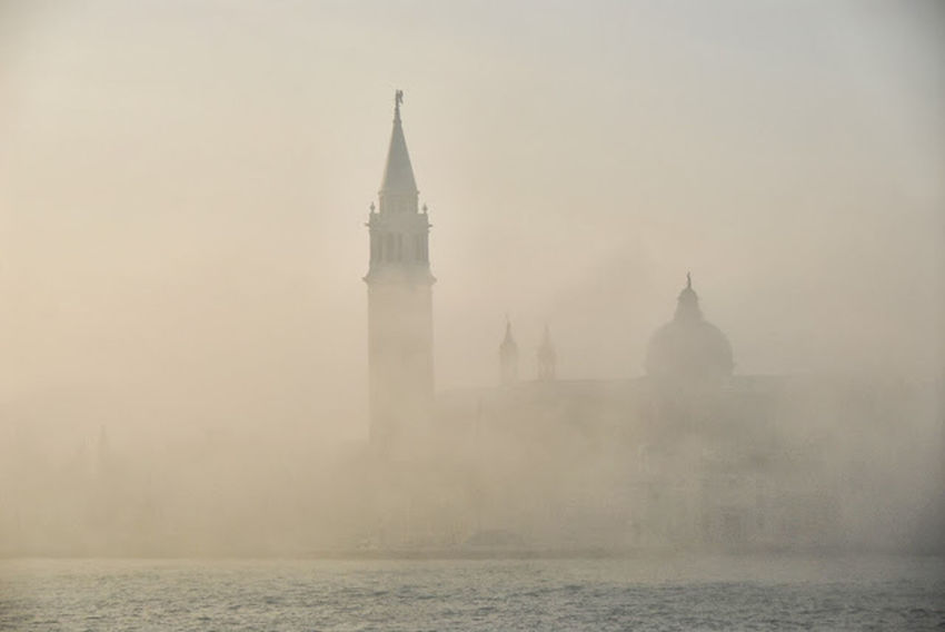 Beautiful Places Around The World Early Mornings Fog Over Water Architecture Seeing The Sights Venice, Italy