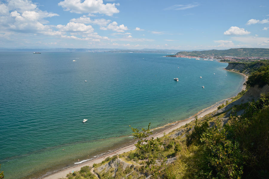 Beach Beauty In Nature Blue Blue Sky Holiday Horizon Over Water Izola Journey Landscape Mer Nature No People Outdoors Scenics Sea Seascape Seaside Seaside_collection Sky Slovenia Summer Summer Views Summertime The Great Outdoors - 2017 EyeEm Awards Water Sommergefühle