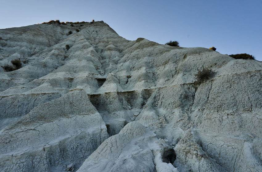 Arid Calabria Clay Clear Sky Desert Eroded Erosion Extreme Terrain Italy Low Angle View Majestic Marina Mediterranean  Mountain Non-urban Scene Palizzi Palizzimarina Physical Geography Remote Rough Scenics Solitude Tourism Travel Destinations Wide