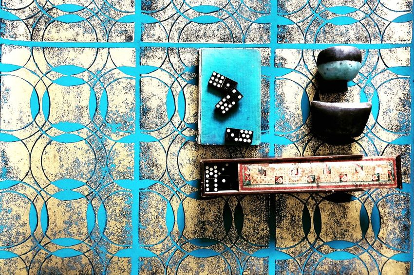 Heritage Color Blue Color Explosion Colorsplash Minimalism Colorful Interior Style Painting Interior Design Wallpaper Handmade Full Frame Pattern Backgrounds No People Wall - Building Feature Textured  Day Built Structure Design Close-up Architecture Indoors  Wall Blue
