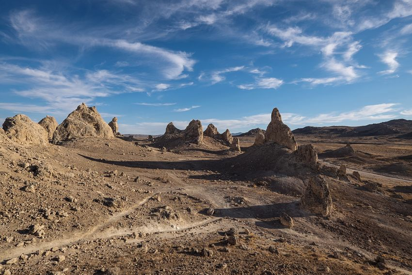 Outerspace was great! 👽👍 Trona Pinnacles California Desert