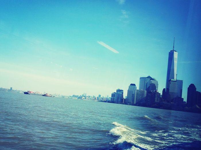 New York Liberty Island Ferry