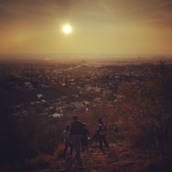 Sunsetoverafrica Windhoek Returning home after a long hike through the eros mountains Explorer 05082012