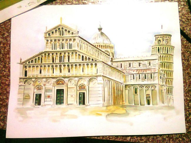 Simple work of Art. Cathedral Of Pisa