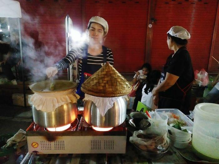 Cooking Streetfood Market
