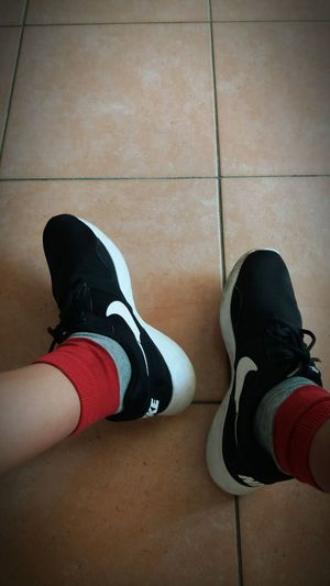 Two Is Better Than One Shoe Footwear Human Foot Tiled Floor Indoors