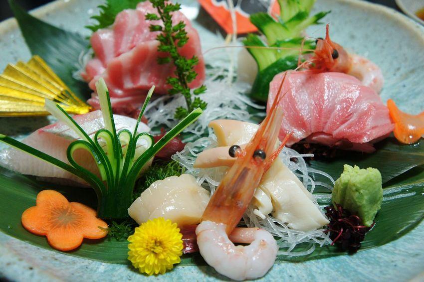 Seafood Japanese Food Day Japan Photography