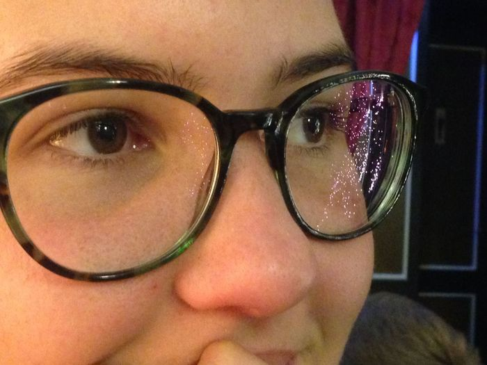 Human Eye Eyeglasses  Human Face Close-up People Young Adult Eye Portrait Sparkles Glasses Indoors