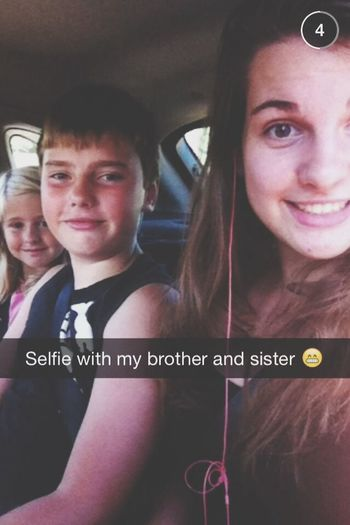 Selfie Family Brother Sister