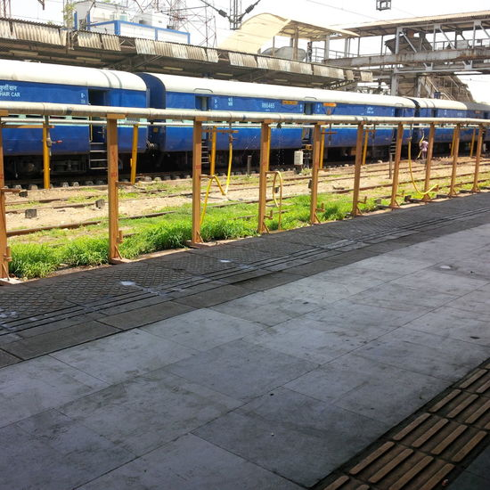 Railway Railwaystation Train Scenery Indianrailways Train Station Train Tracks India Pipeline