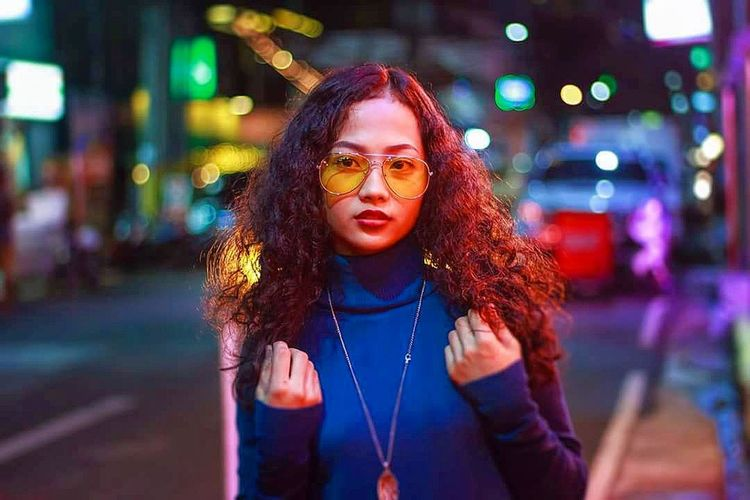 Night City City Life Young Adult Illuminated Portrait ManilaStreetPhotography Streetincolors People One Person Lifestyles EyeEmNewHere Sommergefühle EyeEm Selects HUAWEI Photo Award: After Dark International Women's Day 2019