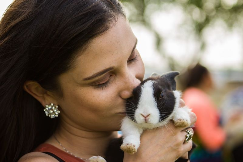 One Animal One Person Focus On Foreground Close-up Real People Outdoors Portrait Young Women Young Adult Adult People Pets Domestic Animals Day Lifestyles Beautiful Canonrebelt5 Photojournalism Photographyislifee Rgv EyeEmNewHere Adorable Enjoying The Moment Inthemoment Photography