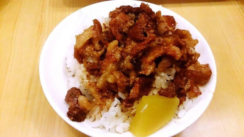 滷肉飯 DELICIOUS FOOD ♡ Meat Rice Eating EyeEm Best Shots Lunch Time! Weekend Pinglin Hanging Out Hungry Relaxing
