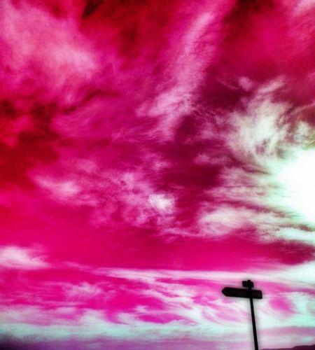 Clouds Sky Pink Pink Sky Itsapinkworld