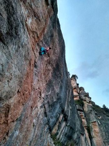 Limestone Rock Face Climbing Rock Climbing Climbing Rope Adventure Mountain Sport Athlete Rock - Object Cliff Steep Canyon