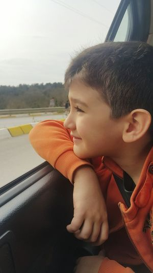 Son <3 My World ! School Off Car Travel Watching Nature