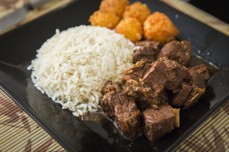 Rice Close-up Day Food Food And Drink Freshness Healthy Eating Indoors  Meat No People Ready-to-eat