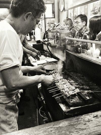 Food Black And White Izakaya 酒場