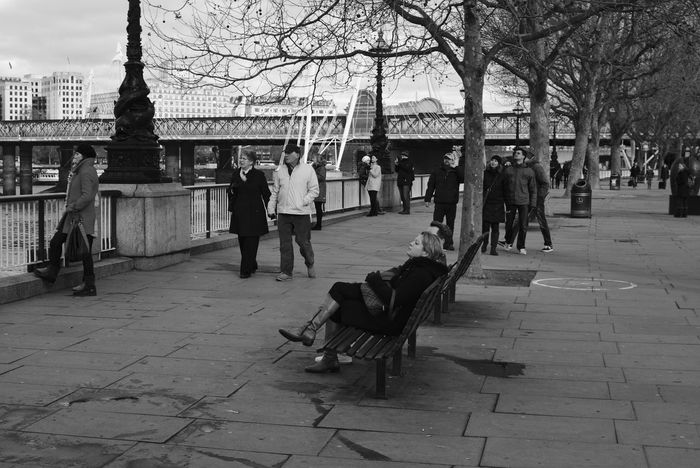 Look Up Monochrome Street Photography City Of London Black And White Streetphotography Sony A6000 Southbank Peoplephotography Streetphoto_bw