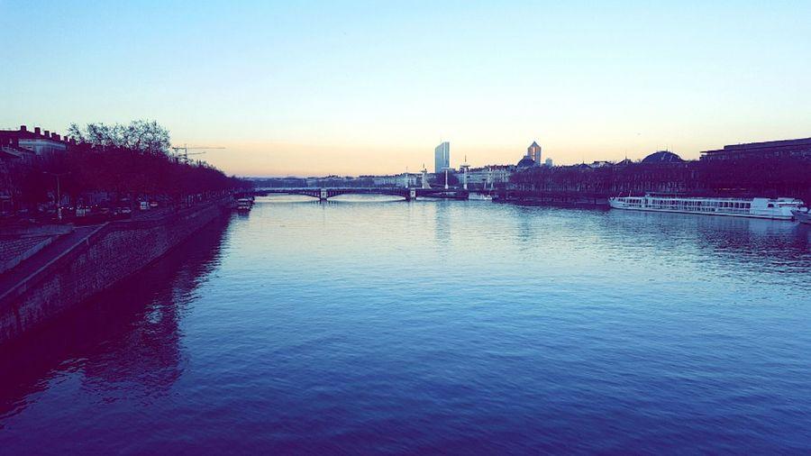 It's my town.. Lyon Great Town Beautiful Sky
