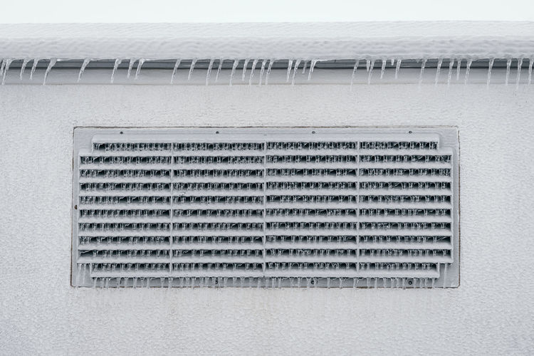 Ice Winter Frozen Freezing Rain Icicle Architecture Abstract Architectural Detail Water Metal Grate Grid Abstract Backgrounds Frost Cold Temperature Cold Ice Crystal