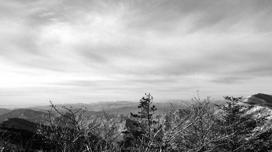 Mountains Monochrome Korea