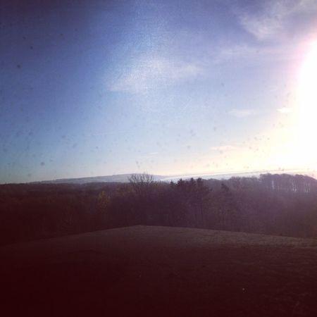Hello World Soaking Up The Sun ChimneySweep JegHarVejlesSmukkesteUdsigt Vejle VejleFjord November2014 Denmark Danmark Sun
