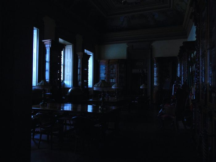 Blue Indoors  Dark No People Tranquility Calm Tranquil Scene Architecture Built Structure Indoors  Coldcolours Porto _Portugal Monument Old Buildings Oldoffice Vintage Stuff