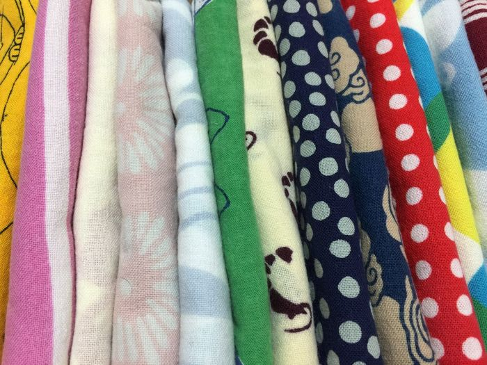 Textile Fabric Indoors  Backgrounds Pattern No People Full Frame