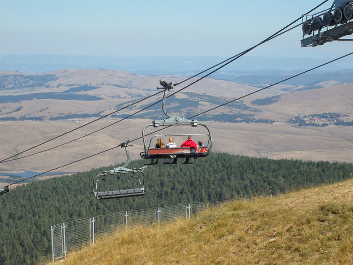 Ski lift on mountain Zlatibor in Serbia. Serbia Beauty In Nature Cable Cable Car Day Environment Land Landscape Mode Of Transportation Mountain Nature Non-urban Scene Outdoors Overhead Cable Car Public Transportation Scenics - Nature Ski Lift Sky Transportation Travel Zlatibor