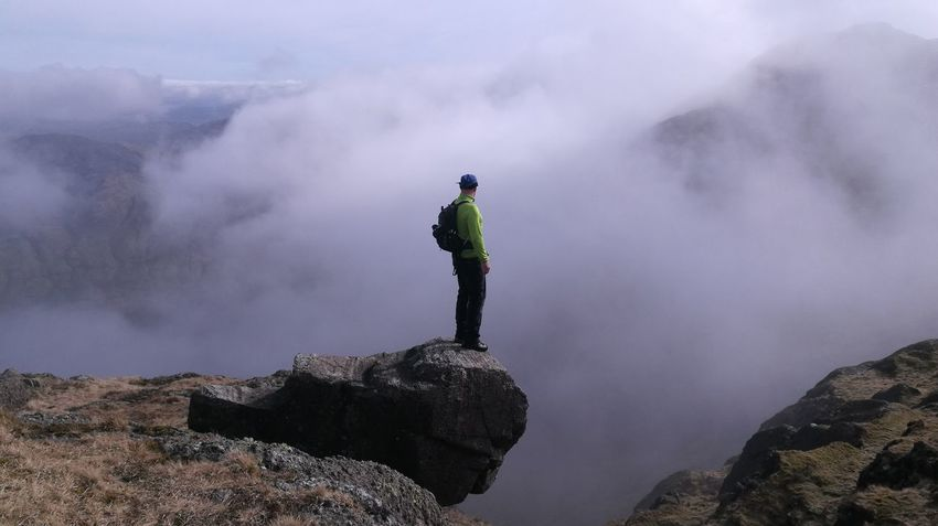 Up In The Clouds Pavey Ark Langdale Pikes Cumbria Lakeland Go Higher