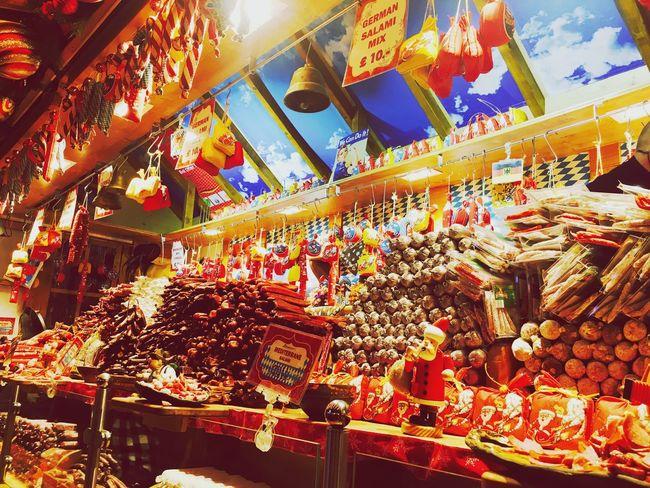 Christmas market in Belfast