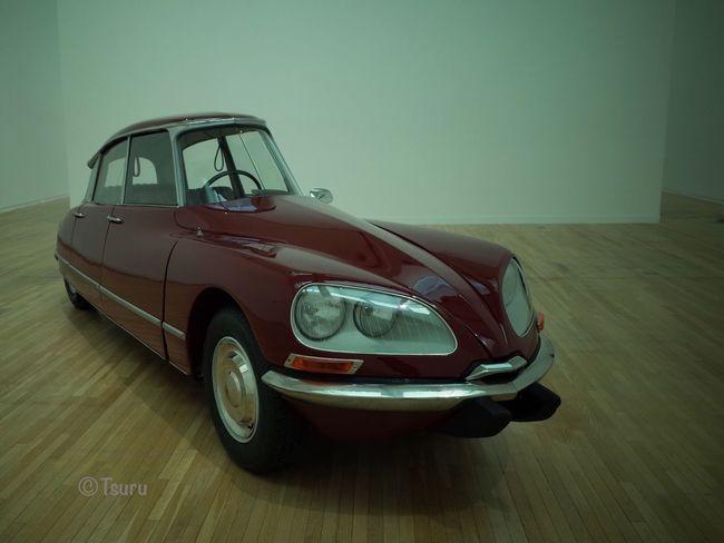 ガブリエル・オロスコ展-内なる複数のサイクル、面白かったよ。 Precision Art Citroen Car