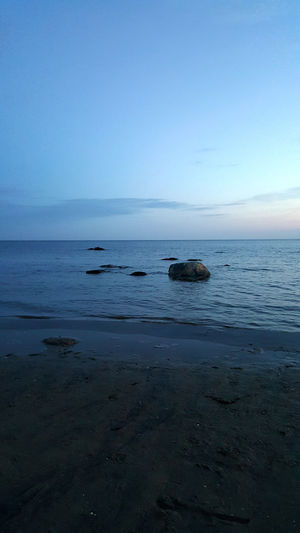 Nature Beach Nature_collection Night Ocean Sky Stones Water