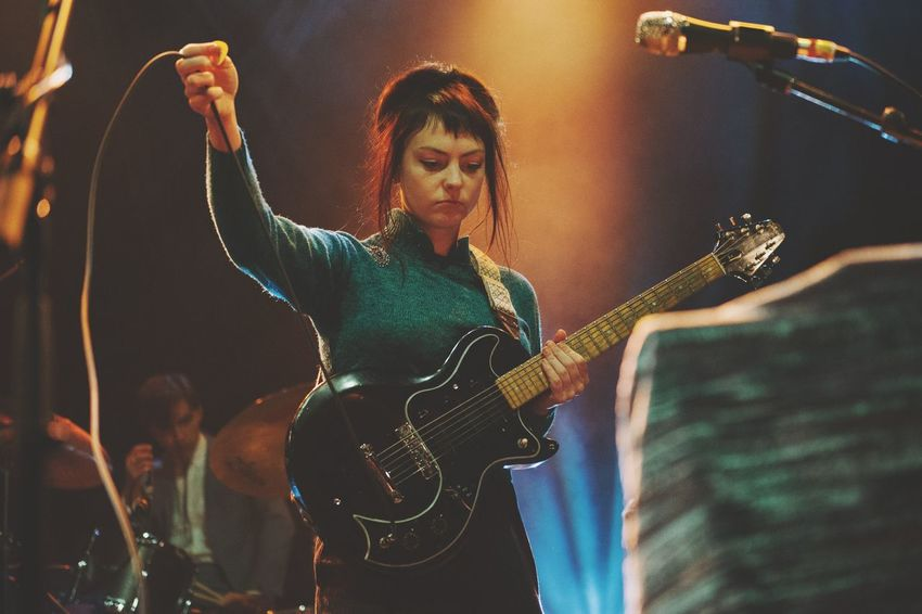 Angel Olsen performs to a sold out London crowd. Music Arts Culture And Entertainment Music Photography  Live Music Live Music Photography Close-up EyeEm Best Shots London Concert Music Performer