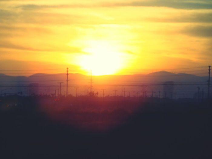 Amazing Sunset Gettingdark