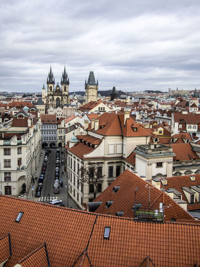 Prague Czech Republic Trip Journey Travel Built Structure Architecture Building Exterior Building Roof City Cloud - Sky Residential District Sky Cityscape High Angle View Town Nature No People House Day Religion Place Of Worship Community Roof Tile Outdoors TOWNSCAPE