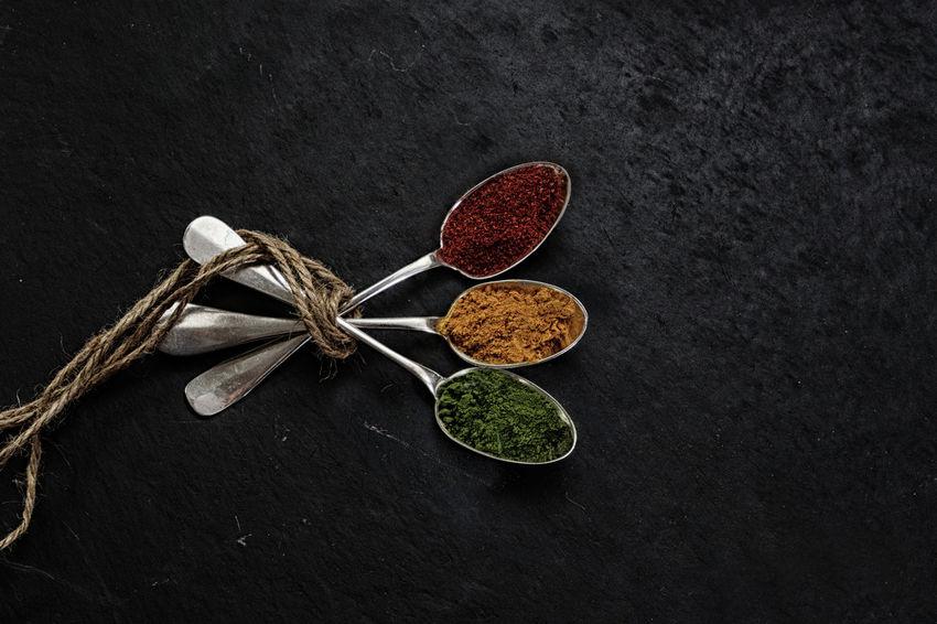 a new Experience Rope Salt StillLifePhotography Black Kitchen Utensils Silver  Spices Still Life