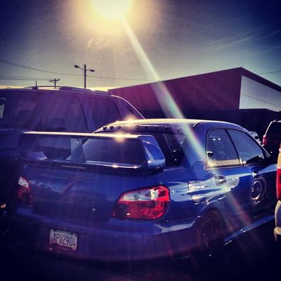 So clean... Wrx STI Subaru Wrb Wing Fast