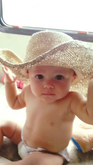 Baby Baby Photography Babyface Grandbaby Cowboy Up Cowboy Hat Cowboys