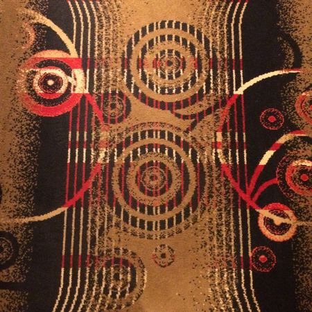 Interesting carpet!