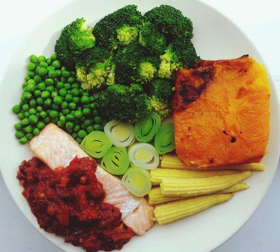 Healthy Food Clean Eating Paleo Dinner
