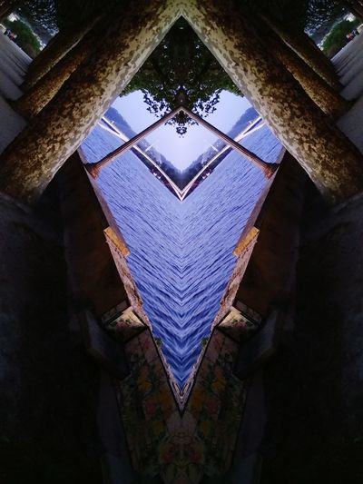 The river bridges... River Riverside Tree Trunk Bridge Portugal Abstract Photography Abstract Triangle Shape Architecture No People Built Structure Design Low Angle View Day Decoration Art And Craft Shape
