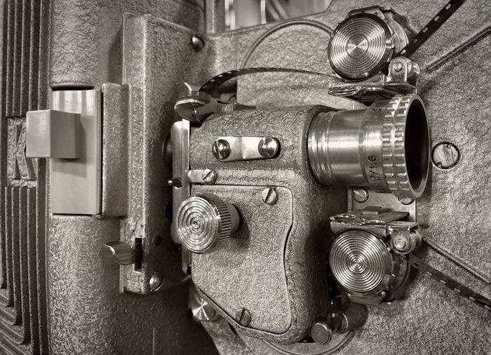 Projector Film Vintage Machine EyeEm Best Shots EyeEm Best Shots - Black + White Monochrome