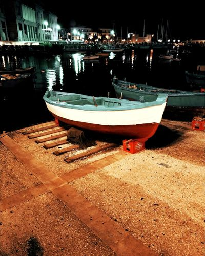 Water Nautical Vessel Moored Beach Sand Sea Reflection Sky Boat Port